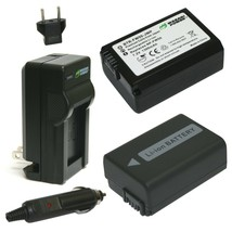 Wasabi Power Battery (2-Pack) and Charger for Sony NP-FW50 - $29.63