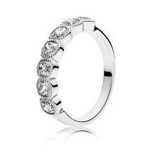 925 Sterling Silver Alluring Cushion with Clear CZ Ring For Women  - $22.68+