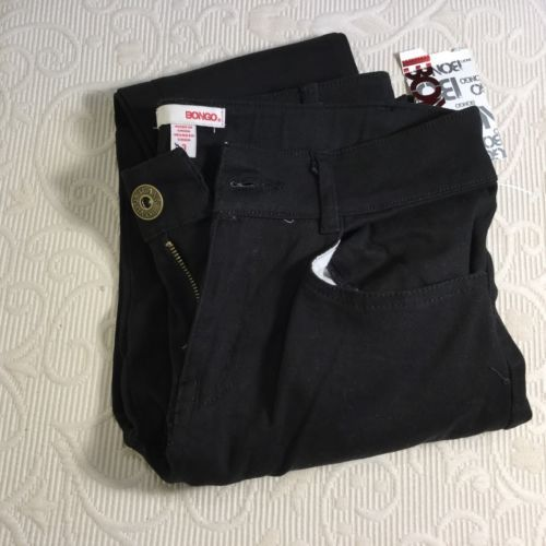 NWT Junior Girls Black Bongo Jeans Sz. 3 Skinny Teen