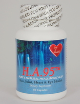 Pure And Natural Hyaluronic Acid Lubricates Joints, Keeps Skin Healthy - $27.95