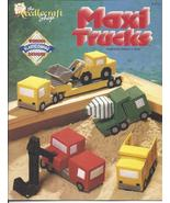 NCS MAXI TRUCKS PLASTIC CANVAS PATTERNS OOP  - £13.53 GBP