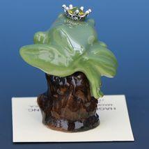 Birthstone Tree Frog Prince November Citrine Miniatures by Hagen-Renaker image 3