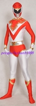 UNISEX RED/WHITE AMAZING SUPERHERO SUIT CATSUIT COSTUMES HALLOWEEN SUIT ... - $49.99