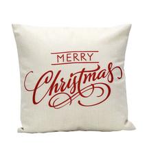 Christmas Letter Sofa Bed Pillow Decoration Nav... - $6.60