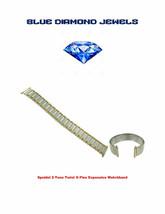 Speidel Straight End Twist-O-Flex Wide One TwoTone Watch Band 1242/16 - $16.34