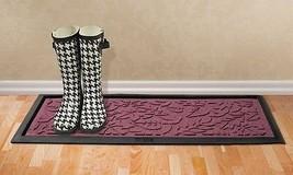 "Bungalow Flooring Aqua Shield Fall Day 15 inchx36"" Boot Tray Bordeaux Ma... - $39.90"