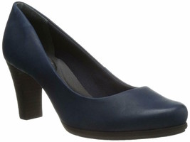 Womens Rockport Total Motion 75mmh Pump - Deep Ocean Nappa, Size 7 [M78896] - $79.99
