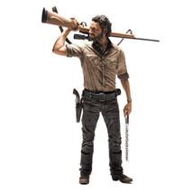 Walking Dead TV Rick Grimes 10-Inch Deluxe Acti... - $37.25