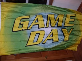 GAME DAY FLAG Tail gate   3' X 5' - $7.99