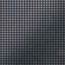 Mosaic tile massiv metal Raw Steel mill grey 1,6mm thick ALLOY Glomesh-RS - $1,589.00