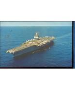 USS ENTERPRISE Official US navy photo  chrome  POSTCARD  2.79 - $6.00
