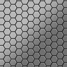 Mosaic tile massiv metal Stainless Steel marine brushed grey 1,6mm thick... - $701.37