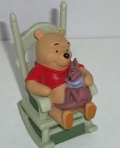 Disney Winnie Pooh Roo Figurine Sweet Dreams Little One Baby Rocking Chair - $69.95
