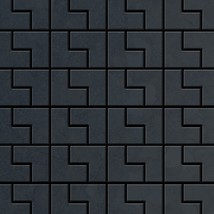 Mosaic tile massiv metal Raw Steel mill grey 1,6mm thick ALLOY Kink-RS d... - $563.27