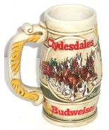 Budweiser Beer Stein 1983 Clydesdale Horses Pro... - $99.95