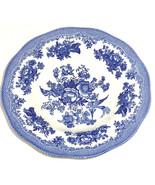 4 Asiatic Pheasant Blue Rim Soup Bowl Johnson B... - $109.95