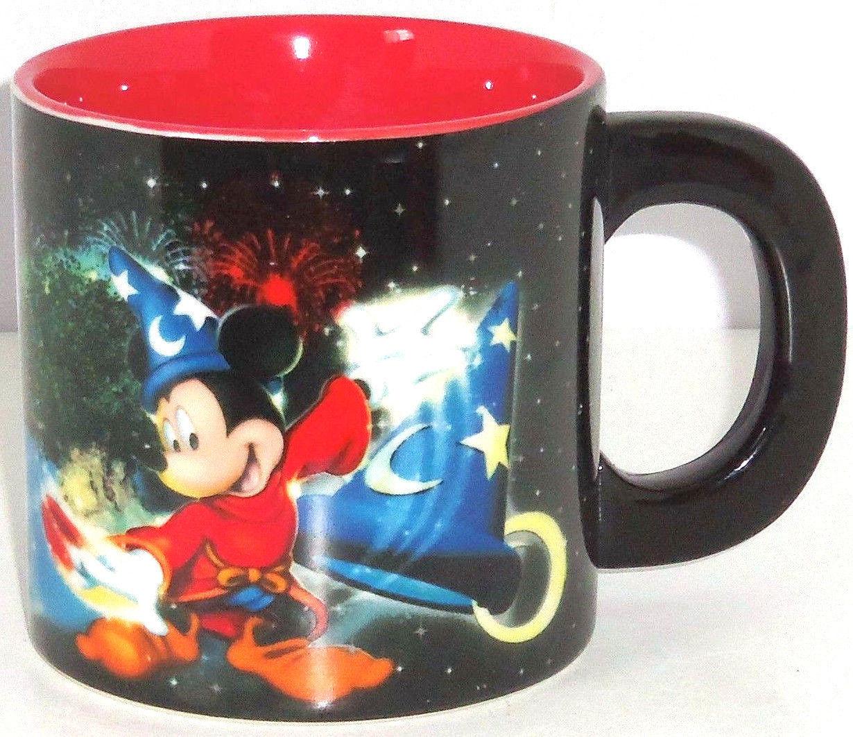 Disney Four Parks One World Mickey Mouse Coffee Mug