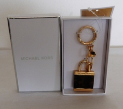 Michael Kors Extra Large Lock Charm In Tortoise Color Authentic Nwt - $34.99