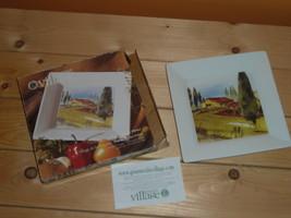 Gourmet Village 7in square Tuscan platter - $10.00