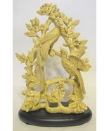 Chinese Double Phoenix Bird Figurine with Stand - $71.27