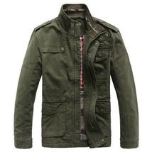 Jeep Rich Men Outdoor Autumn Cotton Blend Zipper Warm Coat Jacket Outwear - $79.97