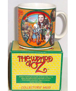 Wizard of Oz Dorothy Lion Tin Man Scarecrow Mug Retired Cup Enesco Vintage - $49.95