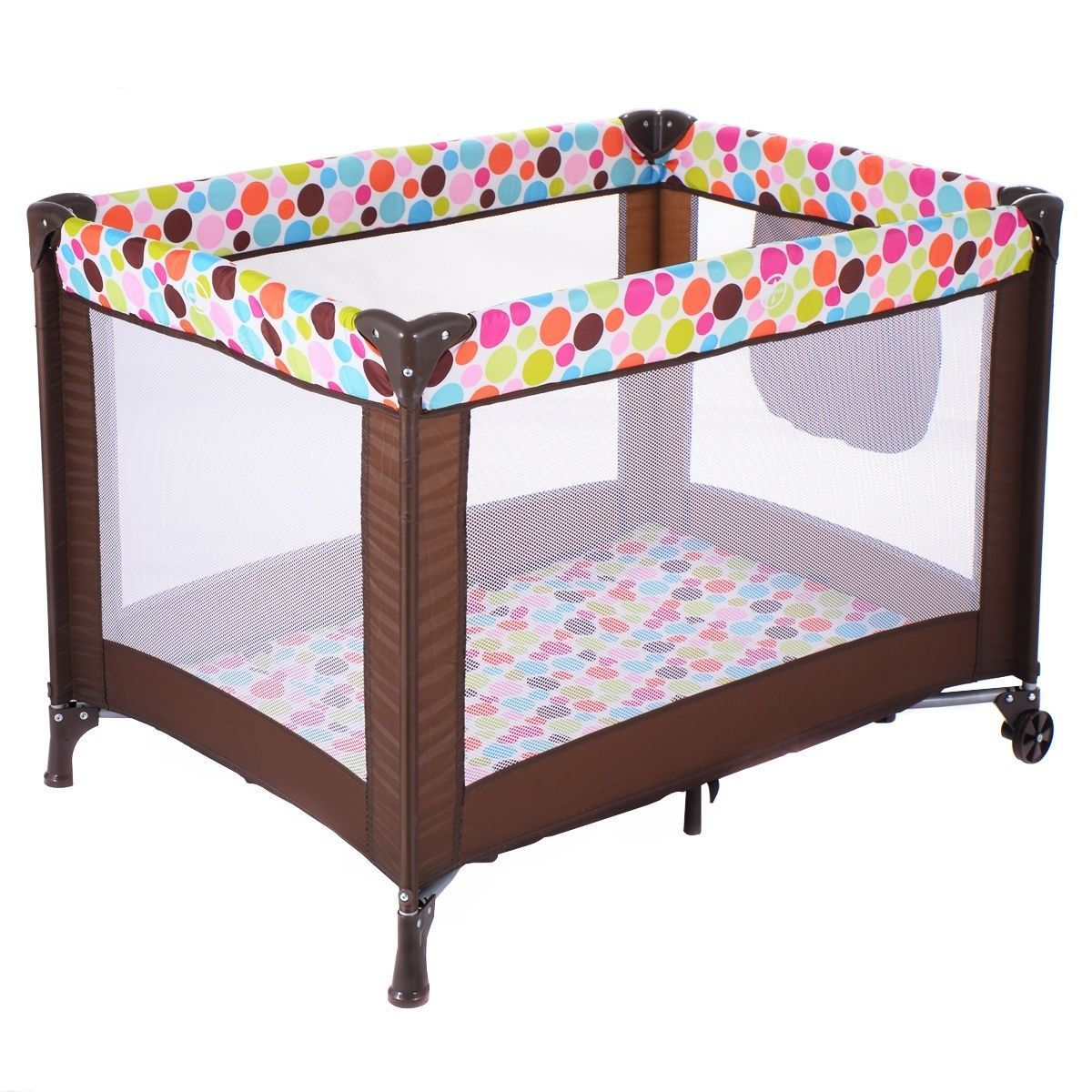 Pack N Play Baby Playpen Bassinet Playard Travel Portable Bed Toddler Foldable