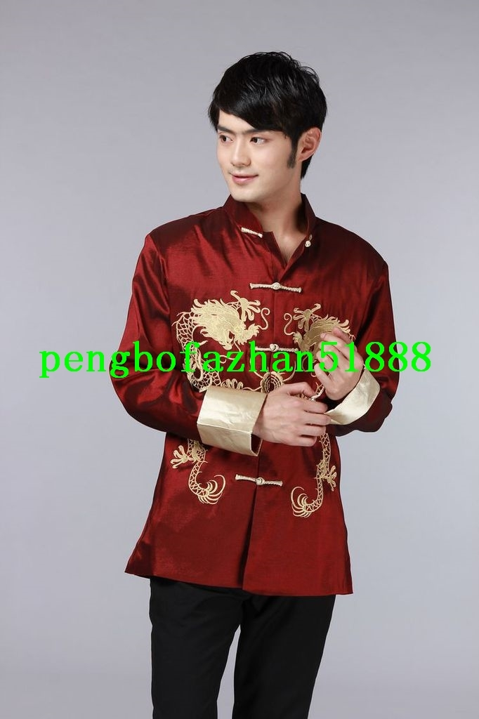 fd5b6676b Traditional Chinese Clothing Men Red Tang and similar items. Jy039 1 5