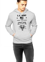 US Army Medic pullover sweater hoodie, EFMB Combat Medic Army strong gra... - $49.99