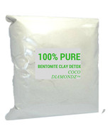100% pure luxury bentonite clay detox by Coco Diamondz™ 4kg - $45.00