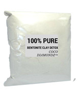 100% pure luxury bentonite clay detox by Coco Diamondz™ 2kg - $38.00