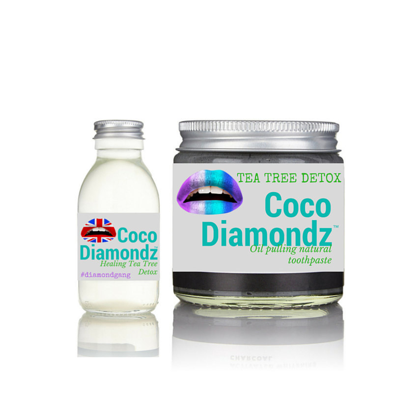 Luxury Tea Tree Organic Handcrafted Combo Deal - all Natural coconut oil pulling