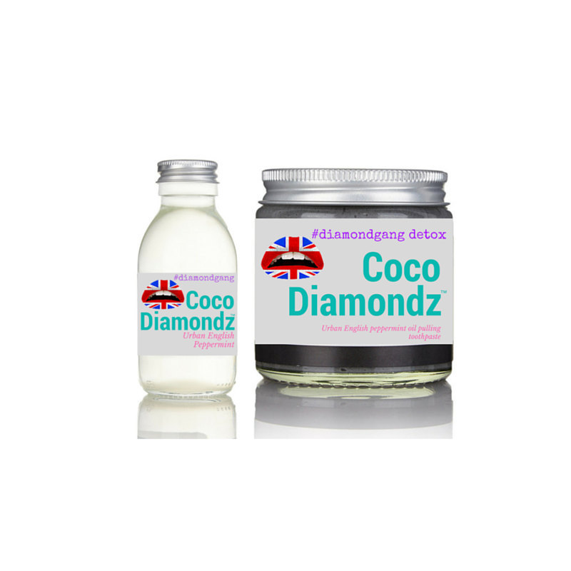 Peppermint Organic Handcrafted Combo Deal - Natural teeth whitener coconut oil p