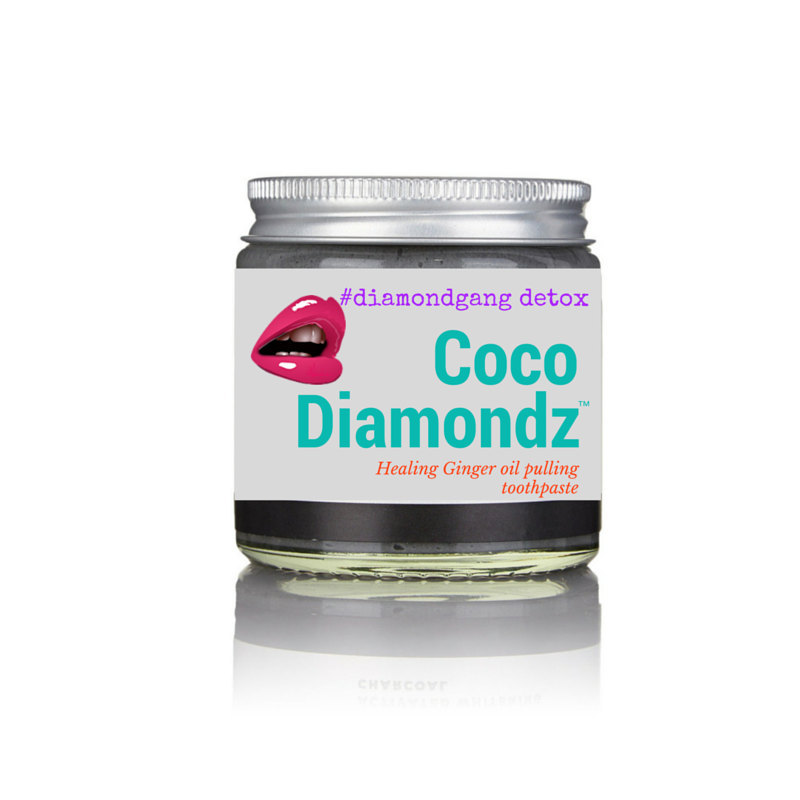 Remineralizing Organic Hand crafted Healing Ginger Coconut Oil Natural Toothpast