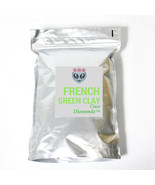 Luxury French Green clay detox hand crafted by Coco Diamondz 100 grams - $12.00
