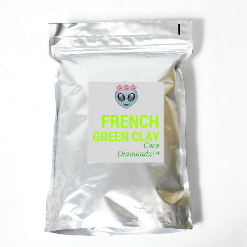 Beauty mask Luxury French Green clay detox natural face mask hand crafted
