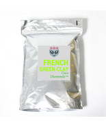 Beauty mask Luxury French Green clay detox natural face mask hand crafted  - $18.00