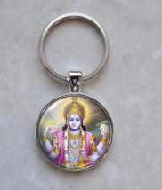 Vishnu Hinduism Vaishnavism Hindu Deity Keychain - $14.00+