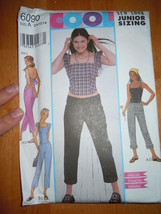 Butterick Junior Size 3/4 – 13/14 Top Pants Pattern #6090 - $4.99