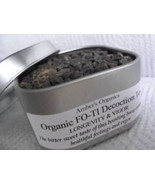 Organic FO-TI Chinese Longevity & Vigour Hair Regrowth Herb Tea. Tin - $8.99
