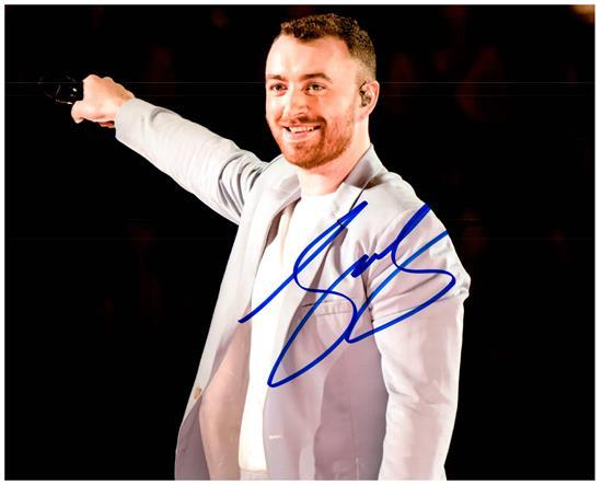Primary image for SAM SMITH  Authentic Autographed Signed 8X10 Photo w/Certificate - 27185