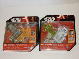 Star Wars Box Busters ~ Battle of Naboo Yavin Hoth & Tusken Raider Attac... - $32.66