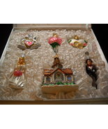 Old World Christmas Wedding Collection Christmas Ornaments Padded Boxed Set - $39.99