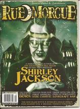Rue Morgue Magazine #170 Shirley Jackson Dark Carnival Hill House Horror - $9.95