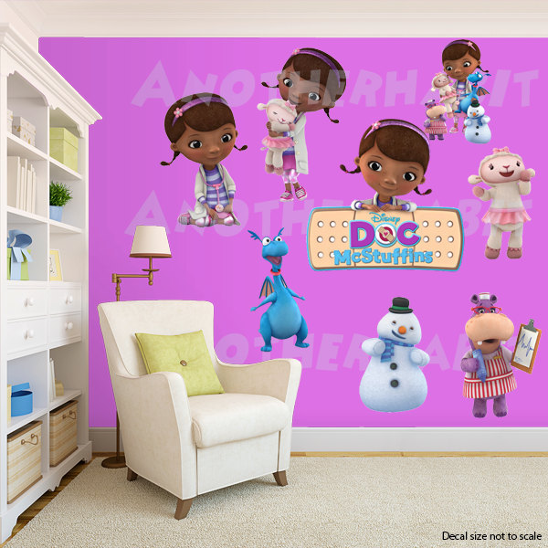 Doc Mcstuffins Wall Decal Room Decor Decals Stickers