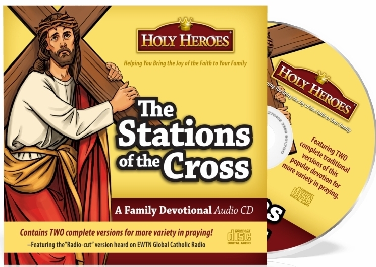 Holy heroes cd the stations of the cross