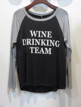 Wine Drinking Team Womens Long Sleeve - $19.99