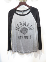 Mermaid Off Duty Womens Long Sleeve - $19.99