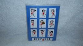 Betty Boop Stamp Republique De Guinee 750GNF Plate Block of 9 BP1 3520 LTD - $15.99