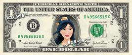 MULAN on REAL Dollar Bill Disney Cash Money Memorabilia Collectible Cele... - $6.66